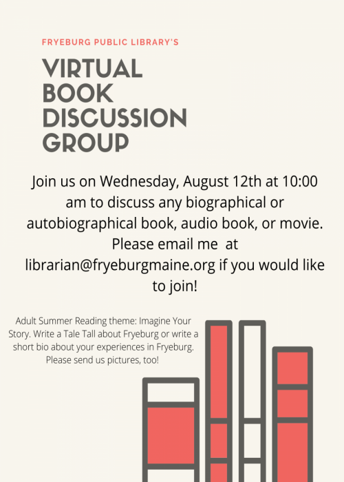 book group august
