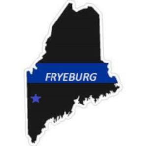 The State of Maine, with a Star to mark Fryeburg