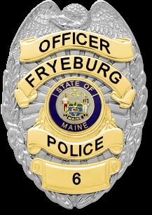 Fryeburg Police Badge 6